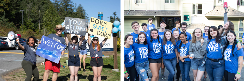 move in day for viu residences orientation