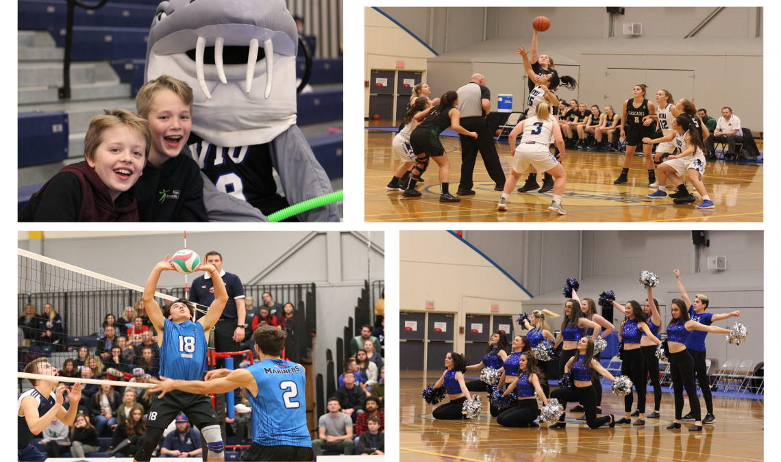 photos from viu mariner games